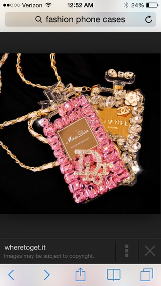 phone cover dior bling