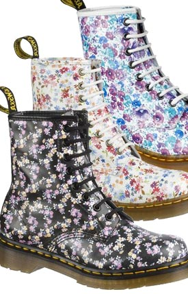 Floral - Buy Women\'s Dr Martens 1460 Floral Boots for less. Best ...