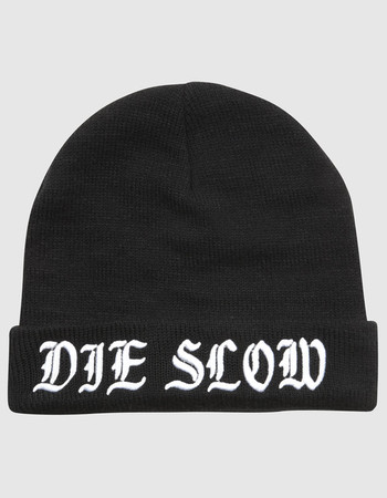 Buy Die Slow Beanie at Drop Dead Clothing (£20.00) - Svpply 3413f14fdf9