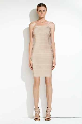 Herve leger summer dress with metal