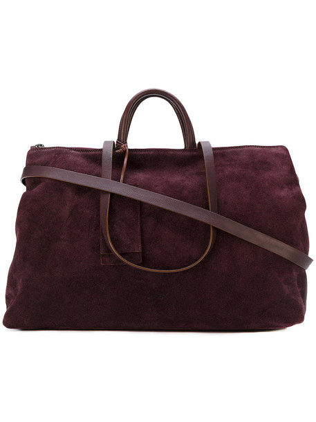 Marsèll women bag tote bag suede red
