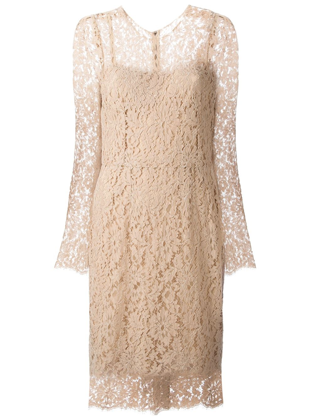 Dolce & Gabbana Lace Dress - Julian Fashion - Farfetch.com