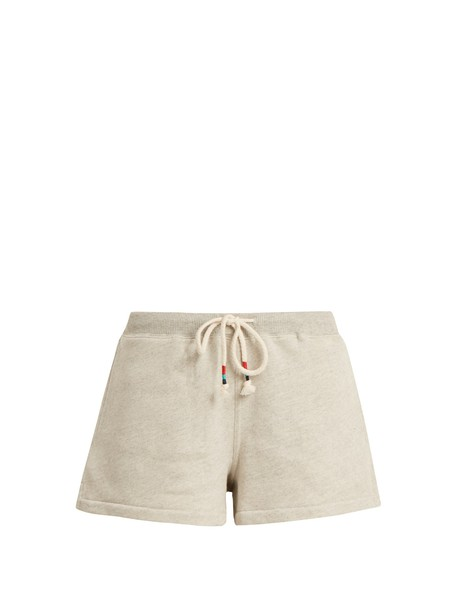 The Upside shorts cotton light grey