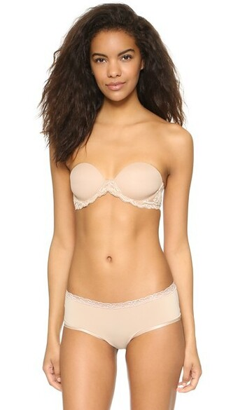 bra feathers strapless underwear