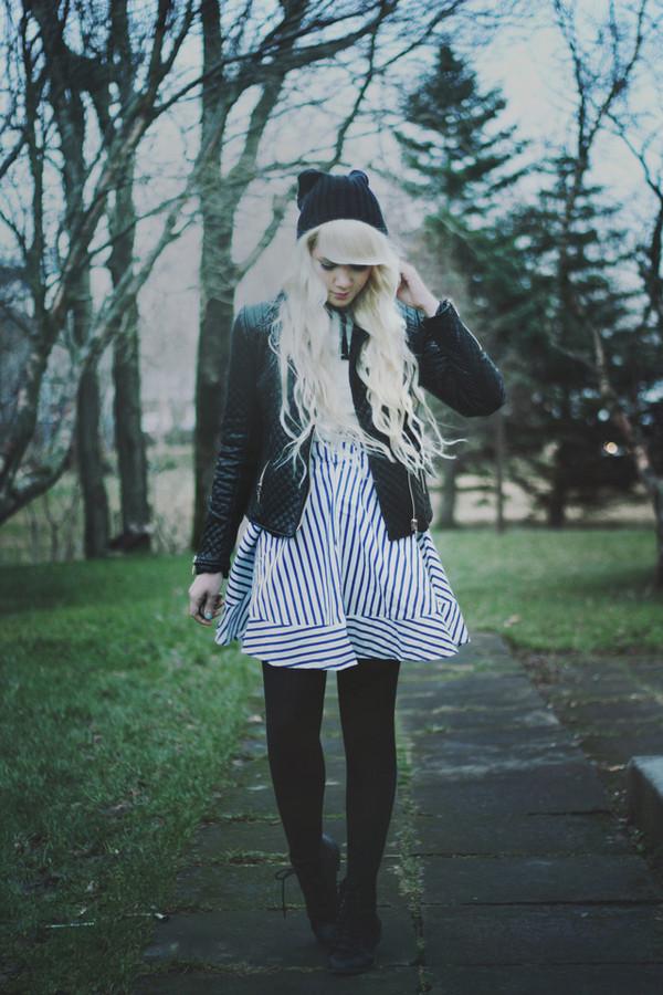 kertiii dress hat jacket shoes