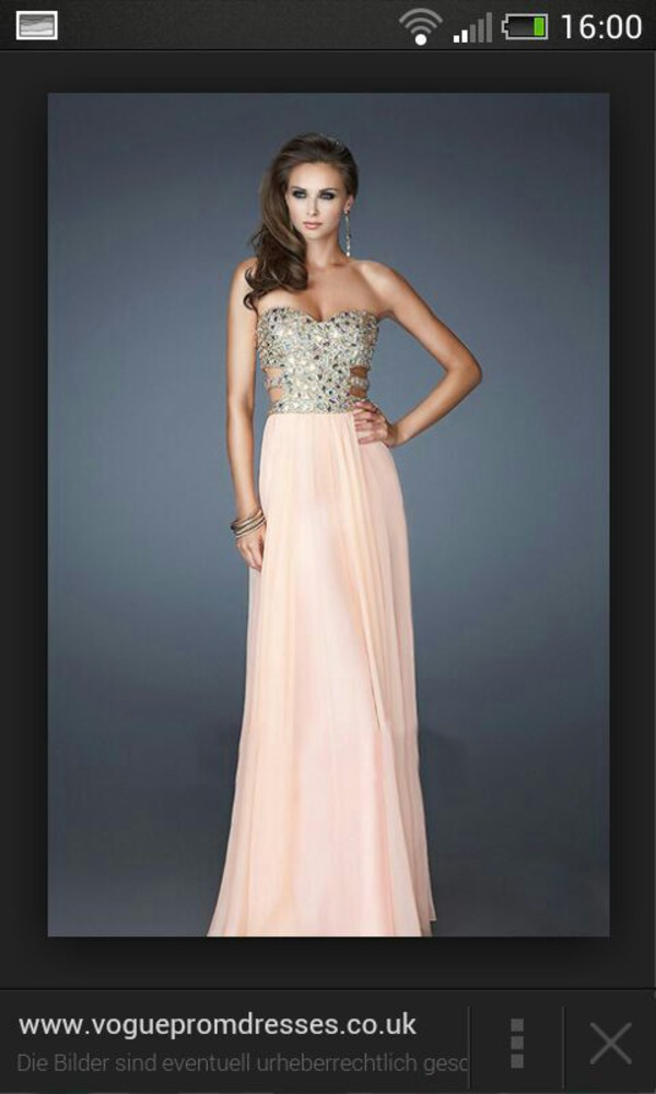 dress eightball evening dress prom dress la femme 18602