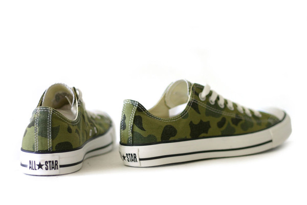 Shoes Converse Camouflage Wheretoget