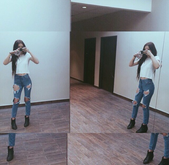 jeans acacia brinley ripped jeans