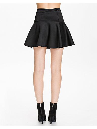 Scuba Skirt - Club L - Svart - Kjolar - Kläder - Kvinna - Nelly.com