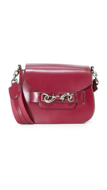 Rebecca Minkoff Florence Saddle Bag - Tawny Port