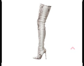 shoes python boots louboutin women