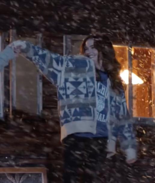 jacket tribal pattern geometric aztec cardigan knit sweater coat zoey deutch perfect ed sheeran