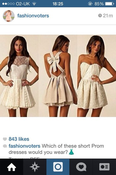 dress white dress cute dress bow