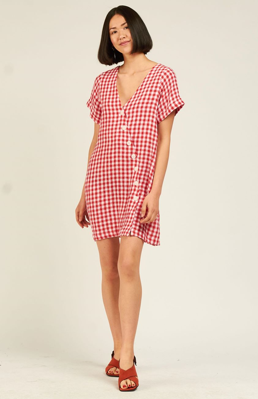 Jones Dress Short - Check (WMC Exclusive)