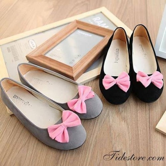 ballerina shoes black