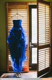 dress,a-line,strapless,organza,floor-length,cascading,ruffle,prom dress,blue dress,high low dress,high low,high low skirt,high low prom dresses,high low dresses prom,blue empire dress,empire skirt,tulle dress,tulle skirt,navy blue formal dress