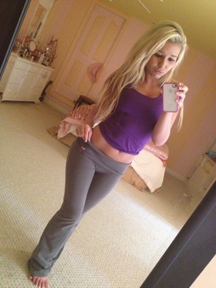 grey pants yoga