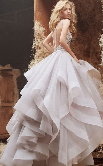 dress long dress white dress wedding dress backless dress