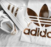shoes,adidas rose gold