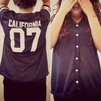 shirt blue jersey california