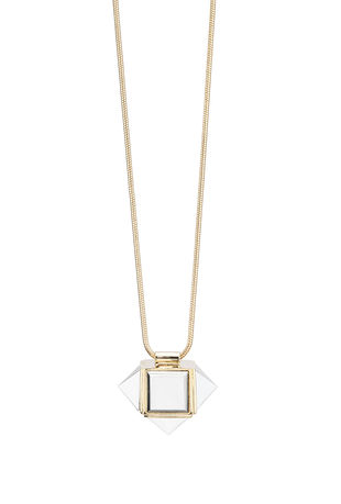 Pyramid Square Ring - TrinaTurk