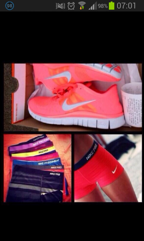 shorts nike shoes