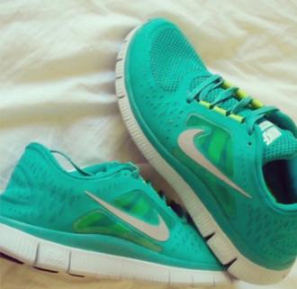 shoes running shoes nike fashion spot bleu summer