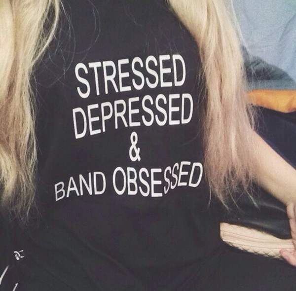t-shirt t-shirt shirt band t-shirt black text tee help ! indie band style grunge grunge t-shirt top crop tops