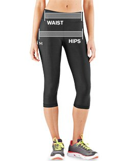 Women's UA HeatGear Alpha Novelty Capri