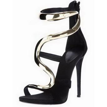 Fashion ankles high heels pumps sandals ankle strap shoes