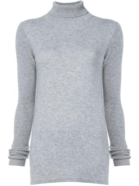 Thomas Wylde jumper women wool grey sweater