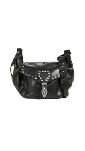 studded,bag,shoulder bag,silver,black