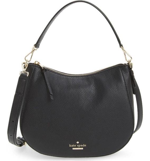 street bag shoulder bag black