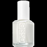 Snowy white nail polish, nail lacquer & nail colors
