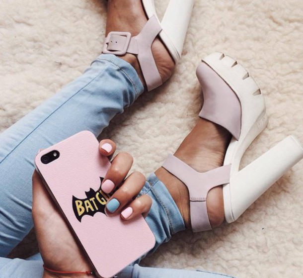 5a122e62295 shoes high heels chunky heels chunky chunky shoes white beige pastel cute  summer platform sandals sandals