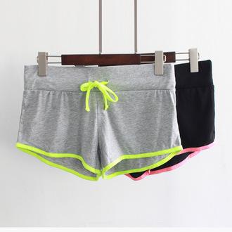 shorts short shorts short sportswear spring outfits summer running yoga shorts yoga summer sports black run