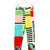 Moschino Kids - printed patchwork leggings - kids - Cotton - 10 yrs