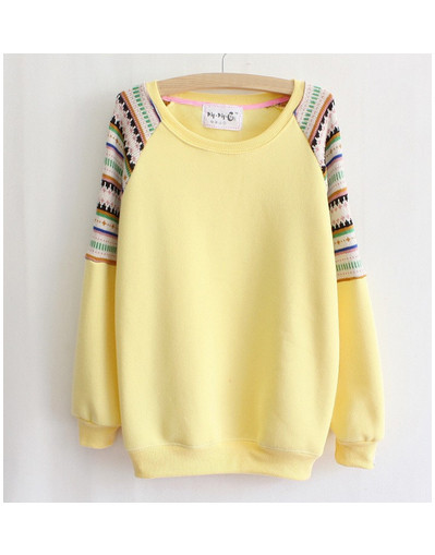 Knitted embroidery sweater pullover