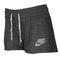 Nike gym vintage short - women's - casual - clothing - dark grey/sail