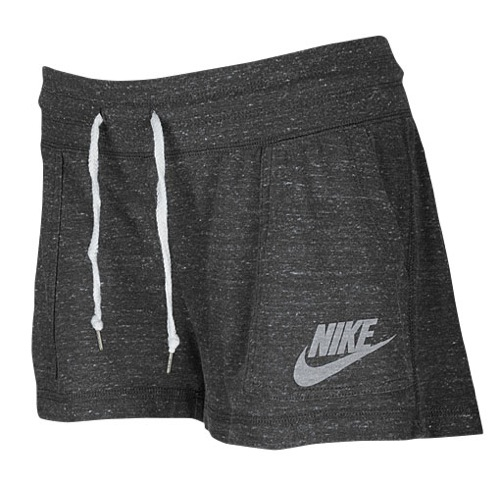 Nike Gym Vintage Short - Women's - Casual - Clothing - Dark Grey/Sail