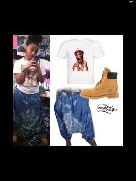 sweatpants bad baddie omg girlz zonnique pullins zonnique harem harem pants ZONNIQUE &BREUANNA