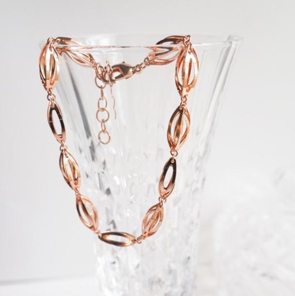 Jewels Summer Handcraft Rose Gold Special Cute Designer Ccol Elegant Gift Ideas Birthday For Her Bracelets Charm Bracelet