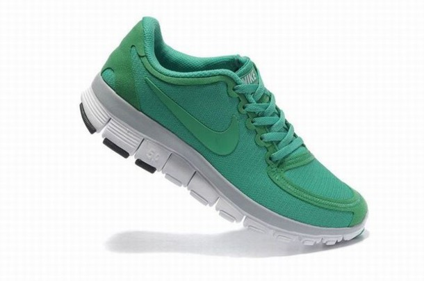 brand new 31114 26572 shoes nike free 5.0 v4 womens green running shoes uk £48.50