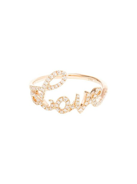 ROSA DE LA CRUZ women love ring gold white jewels