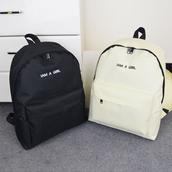 bag,black,white,fashion,trendy,style,back to school,backpack,boogzel,girl,girly,girly wishlist,black and white