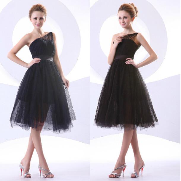 Gorgeous Black Short Homecoming Dress A Line Homecoming Dress