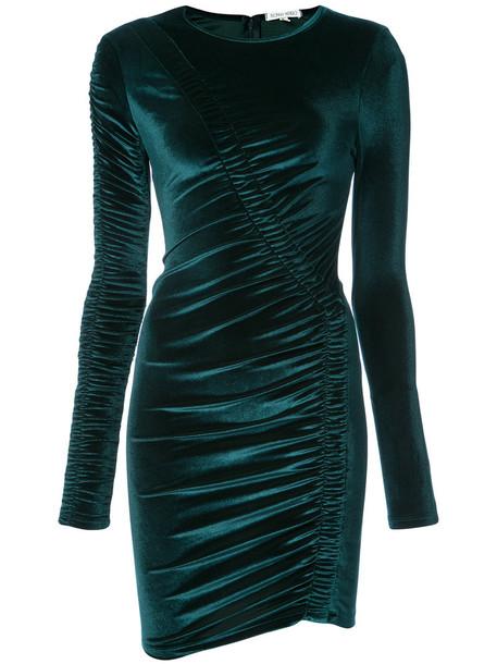 Ronny Kobo dress women spandex blue