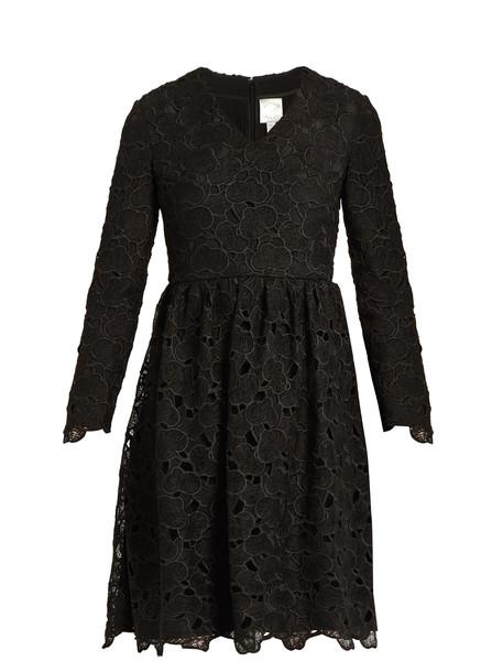 Huishan Zhang dress lace black