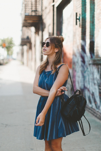 wish wish wish blogger dress sunglasses shoes bag