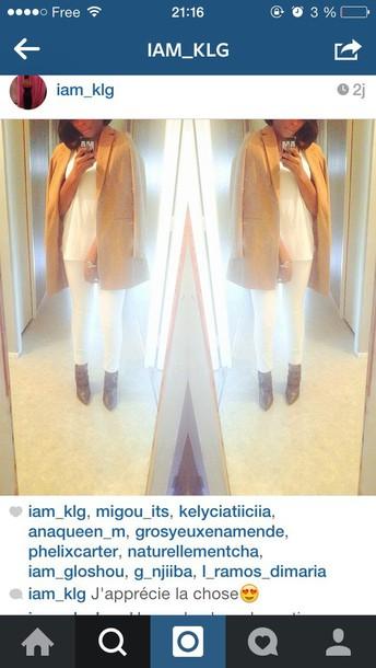 coat girl women style beige beige jacket